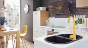 Kolorowe dodatki do doskonały sposób na ożywienie każdej kuchni. Zobaczcie jak intensywne barwy prezentują się w towarzystwie bieli.