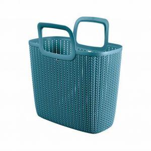Piknik w ogrodzie - niezbędne akcesoria. Koszyk Knitt. Fot. BRW