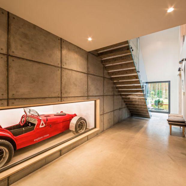 Garaż w środku domu - zobacz wyjątkowy projekt