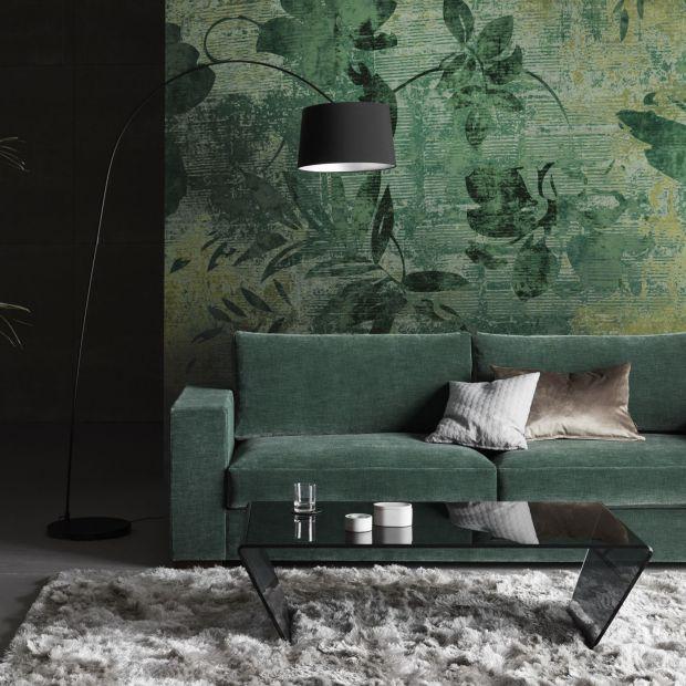 5 pomysłów na salon  w kolorach ziemi