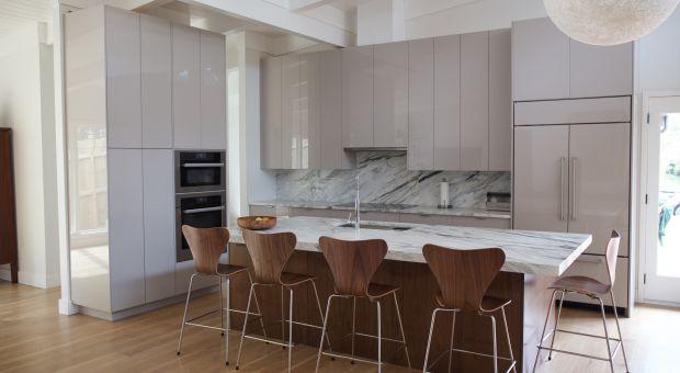 Dobrzemieszkaj pl  projektowanie, aranżacja wnętrz   -> Funkcjonalna Kuchnia W Salonie