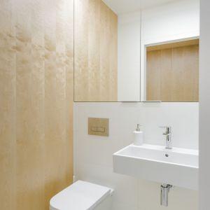 Duże lustra optycznie powiększają łazienkę. Fot. Stanisław Zajączkowski / Zajaczkowski Photography
