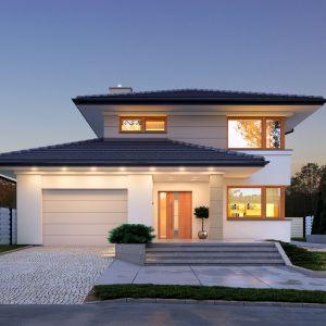 Domy w stylu minimalistycznym. Projekt: Karat. Fot. Archetyp