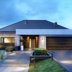 Domy w stylu minimalistycznym. Projekt: HomeKoncept 31. Fot. HomeKONCEPT