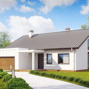 Domy w stylu minimalistycznym. Projekt: Z202. Fot. Z500