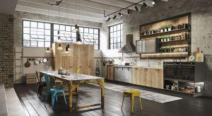 Wraz z modą na minimalistyczne, surowe wnętrza do naszych domów wkradł się trend inspirowany starymi loftami. Coraz częściej pojawia się również w naszych kuchniach.