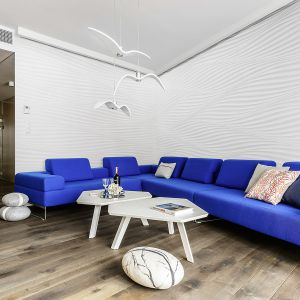 Apartament w Sea Towers. Projekt: Paulina Kasprowicz. Fot. Chapel Parket