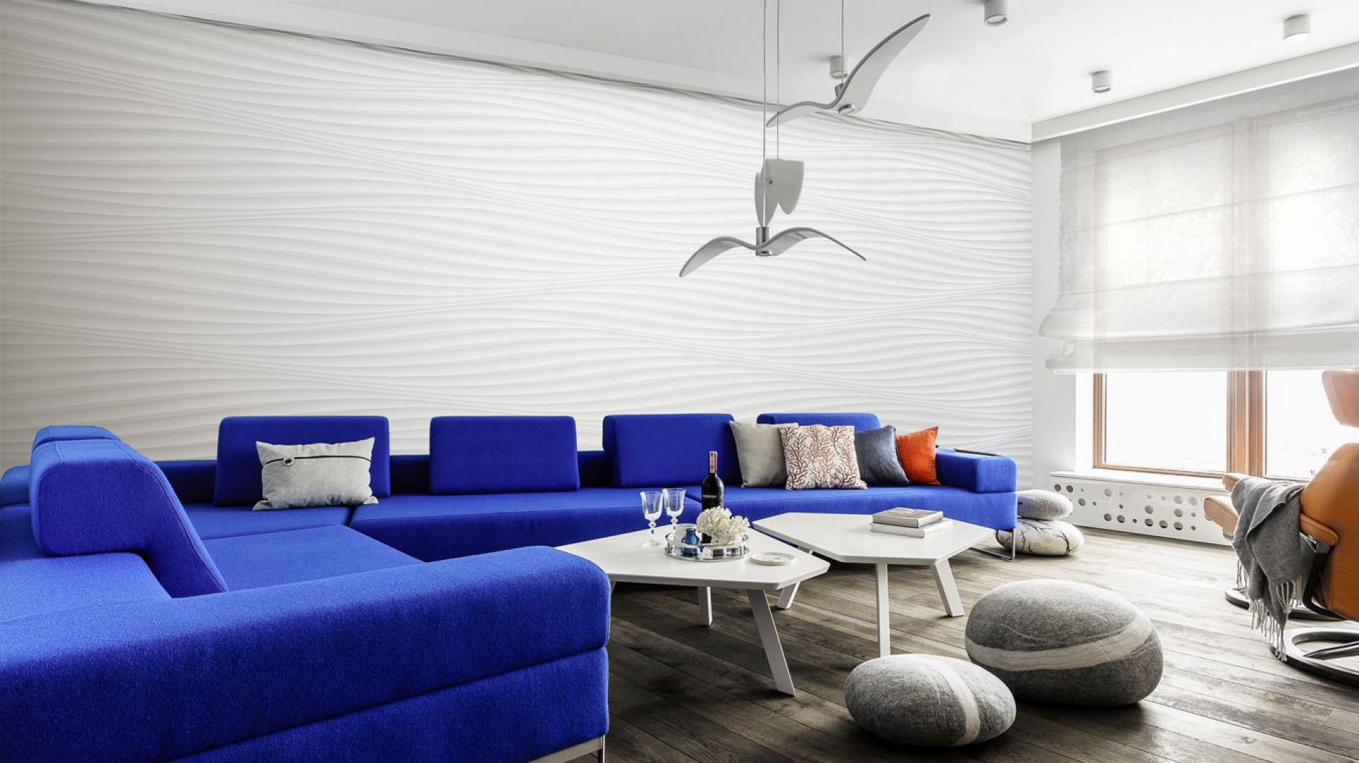 Apartament w Sea Towers. Projekt: Paulina Kasprowicz. Fot. Foto&Mohito
