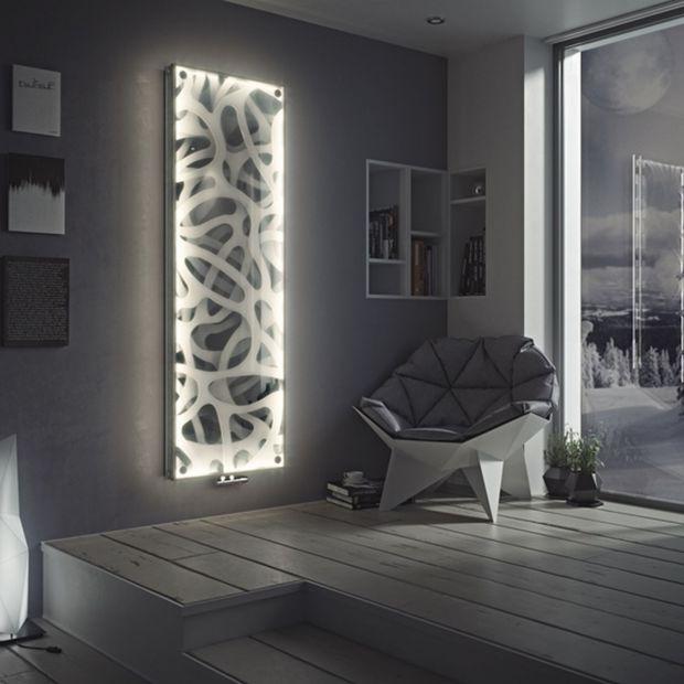Nowoczesne grzejniki: zobacz modele z podświetleniem LED