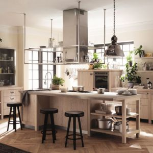 Kuchnia w stylu industrialnym. Fot. Scavolini, Diesel Social Kitchen