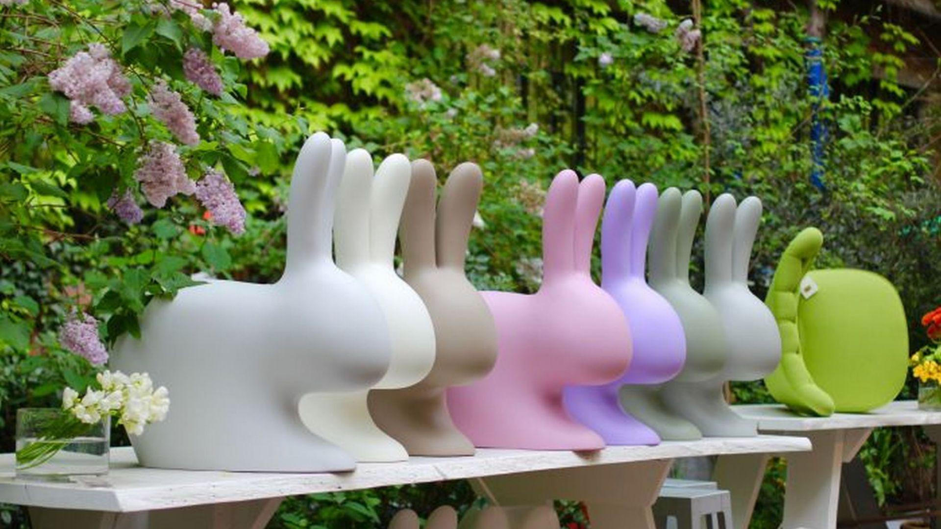 Dekoracje i oświetlenie do ogrodu. Rabbit. Fot. Qeeboo/Dutchhouse.pl