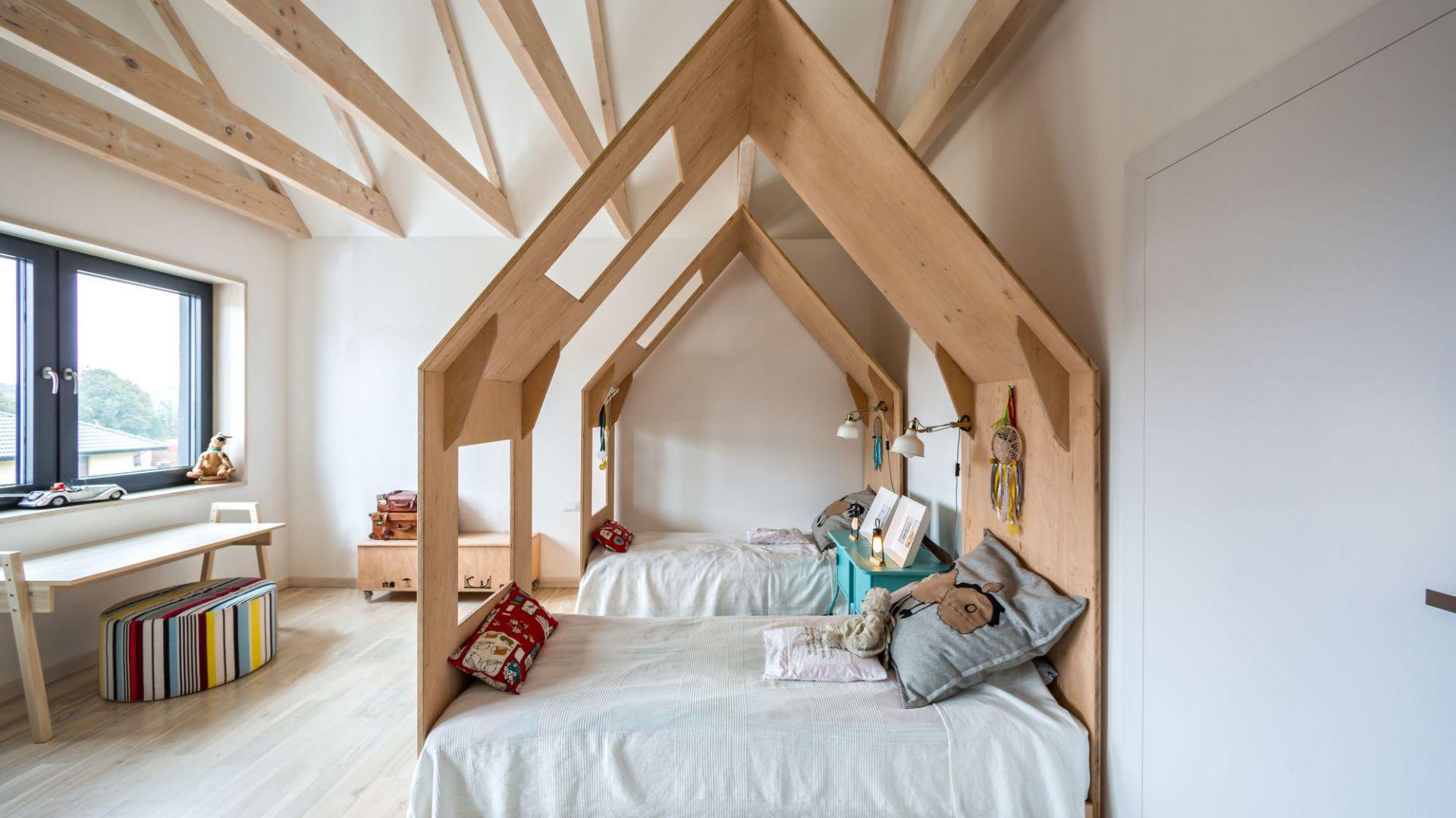 Pokój dziecka. Dom Fence House. Projekt: Paweł Garus, Jerzy Woźniak, Kinga Kin; mode:lina™ Fot. Marcin Ratajczak