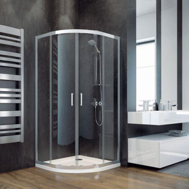Narożna kabina prysznicowa: 12 przykładów