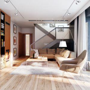 Dom w cytryńcach (W) – kolekcja: projekty domów na wąską działkę ARCHON+