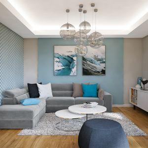 Dom w araukariach (G2) – kolekcja: projekty domów parterowych ARCHON+