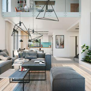 Dom w pierwiosnkach (G2) – kolekcja: projekty domów z antresolą ARCHON +