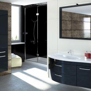 Podwieszane meble łazienkowe z kolekcji Vena marki Devo. Fot. Devo, www.devo.pl