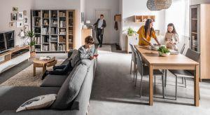 Tak kolekcja mebli jest efektem refleksji na temat zmian zachodzących w stylu życia i odpowiedzią na nowe potrzeby związane z kształtowaniem przestrzeni życiowej. Nowatorska linia oferuje meble, dzięki którym żyje się nie tylko piękniej, ale po