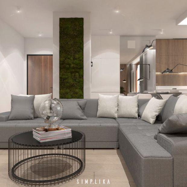Przytulne wnętrze mieszkania na Woli