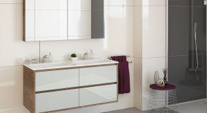 Podwieszane meble łazienkowe nie tylko optycznie powiększą łazienkę o niewielkimmetrażu, ale przede wszystkim zapewnią komfort i wygodę codziennego korzystania z małej łazienki.