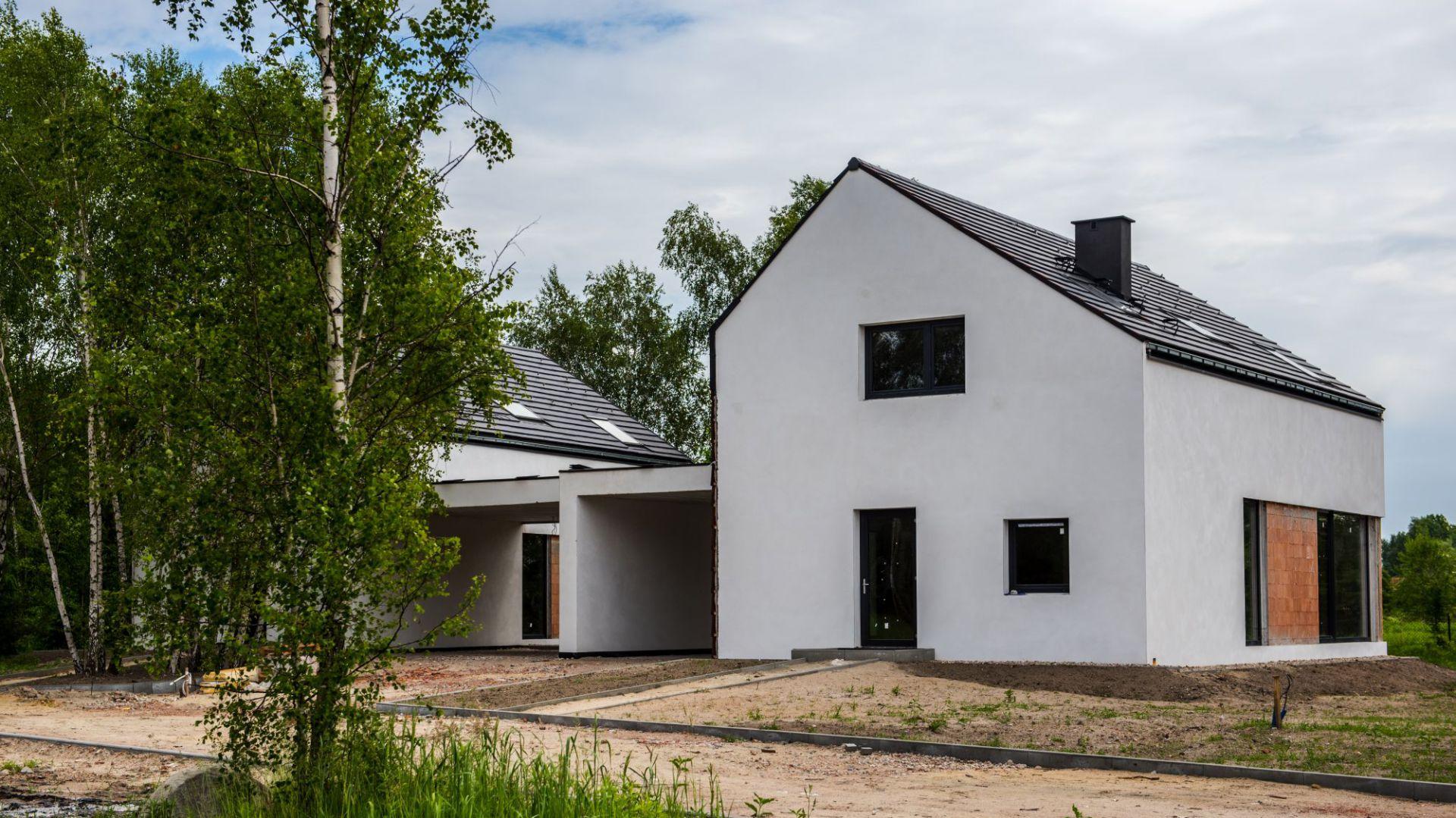 Dom energooszczędny zbudowany  pod Warszawą. Fot. Wienerberger