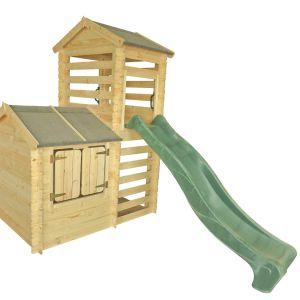 Dodatkowa zacieniona przestrzeń pod platformą jest idealnym miejscem do zabawy i przechowywania różnych dziecięcych skarbów. Fot. 4IQ