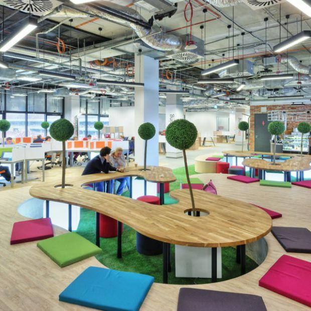 Innowacyjna przestrzeń biurowo-coworkingowa na Stadionie Narodowym w Warszawie