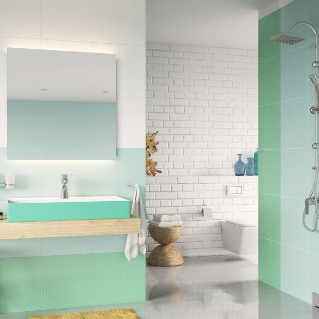 Łazienka w modnych pastelach - tak ją urządzisz