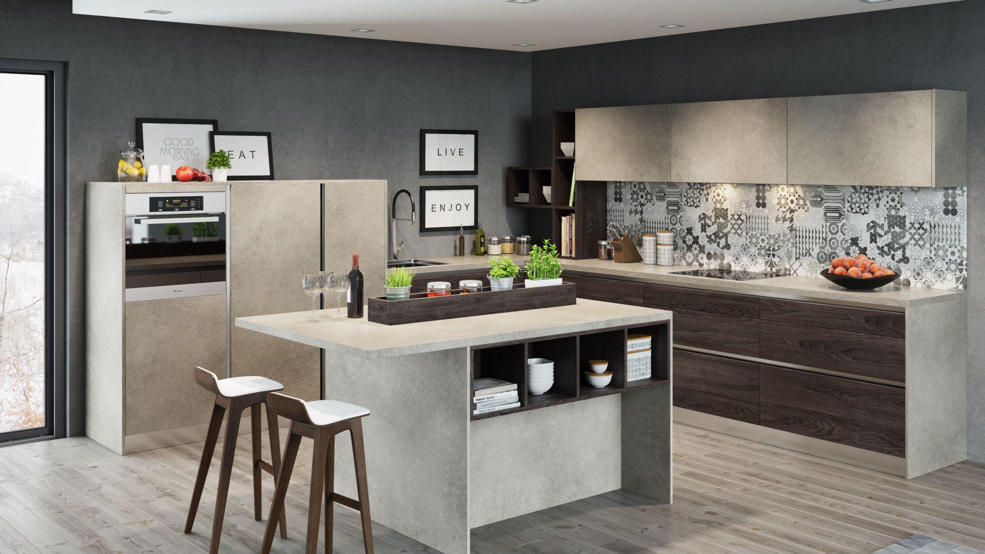 Odpowiednio wytrzymałe półki są bardzo ważne. W kuchni przechowujemy bowiem ciężkie przedmioty. Fot. KAM