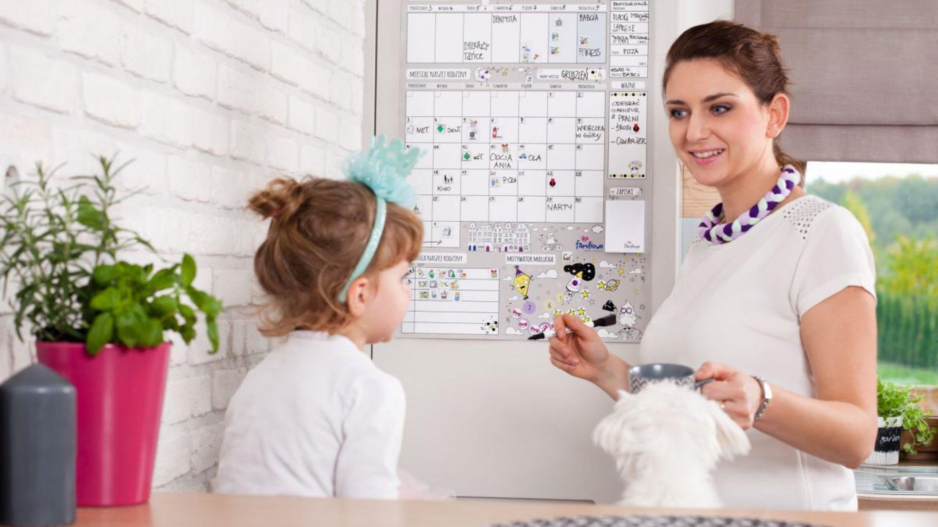 Planer pozwoli uczyć dzieci odpowiedzialności i obowiązkowości. Fot. Family Thinking