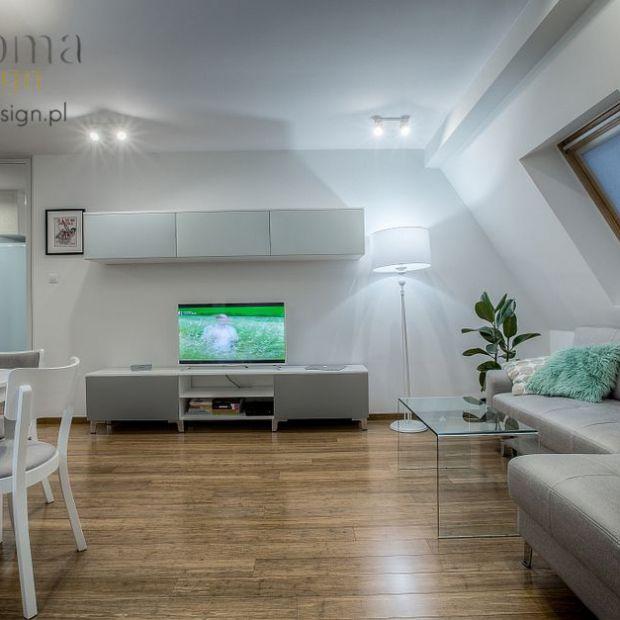 Mieszkanie na poddaszu w stylu skandynawskim