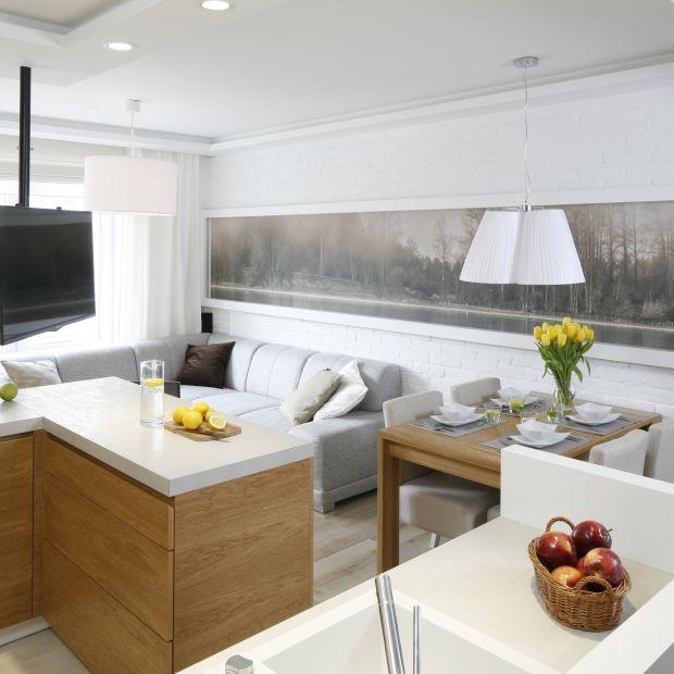 Małe mieszkanie w bloku - zobacz nowoczesny projekt