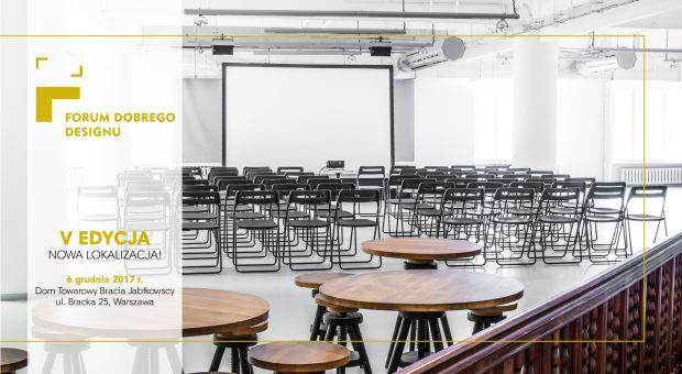 Przed nami 5. edycja Forum Dobrego Designu!