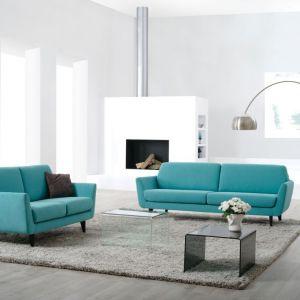Sofa Rucola w turkusowym kolorze. Fot. Sits