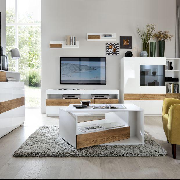 Meble do salonu: pomysły do dużego i małego wnętrza