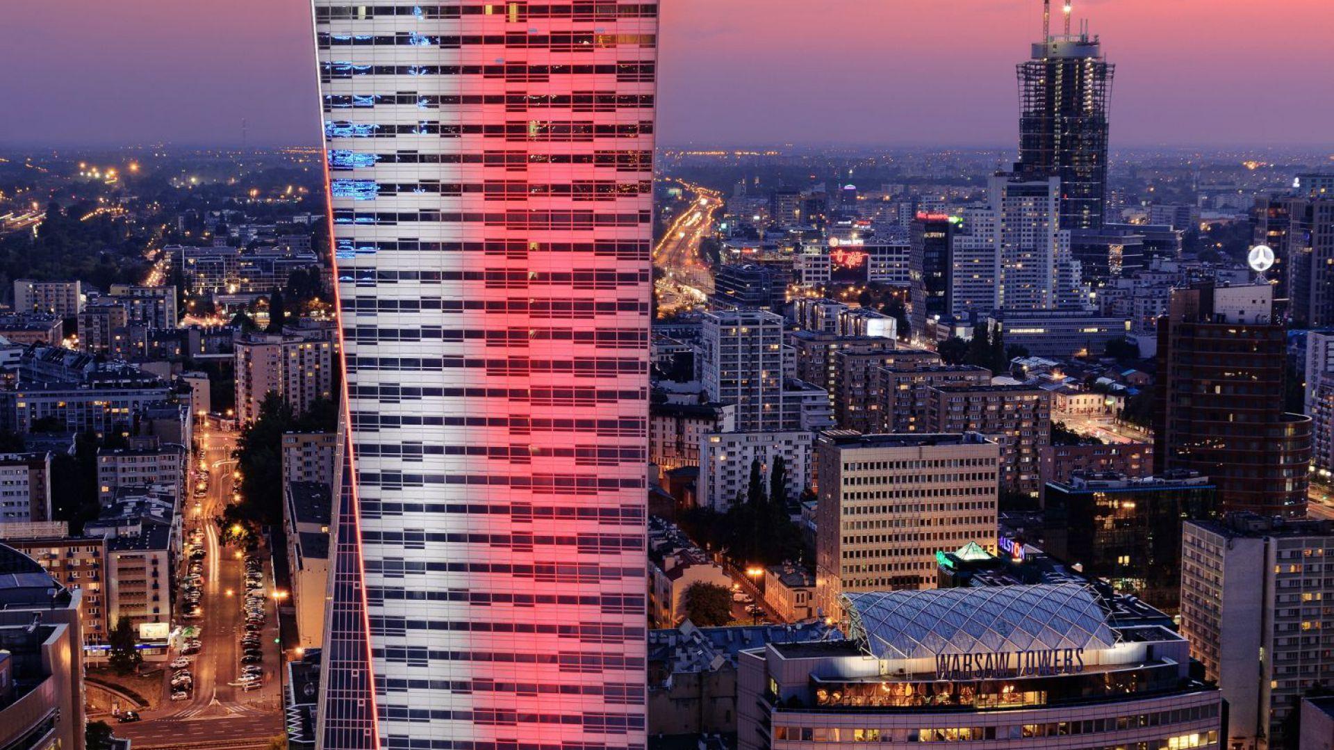 Apartamentowiec Złota 44 to najwyższy wyłącznie mieszkalny budynek w całej Unii Europejskiej. Fot. materiały prasowe