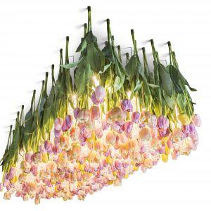 Oryginalny żyrandol Flower Power to hołd złożony wiośnie. Fot. VG New Trend,