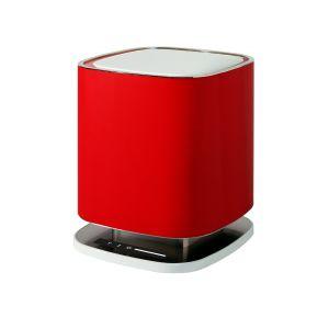 Wyjątkowo skuteczna i cicha designerska lampa Bellaria, dzięki aktywnemu systemowi jonizacji, skutecznie reaguje na zapachy i szkodliwe substancje, pomagając odtworzyć prawidłową równowagę jonową. Fot. Falmec