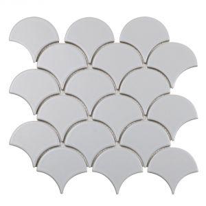 Mozaika Matte Light Grey. Fot. Raw Decor