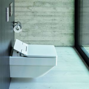 Toaleta myjąca Vero Air/Duravit. Produkt zgłoszony w konkursie Dobry Design 2018.