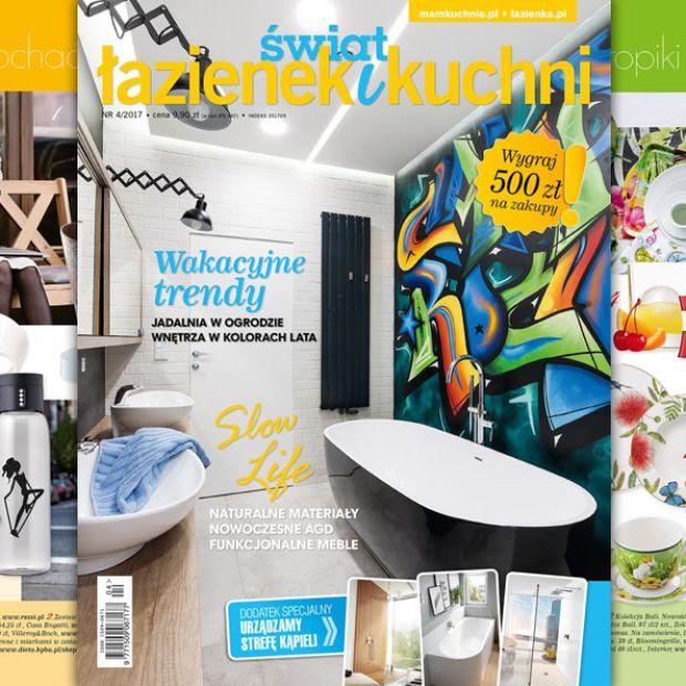 Kup nowy numer Świata Łazienek i Kuchni i wygraj 500 zł na zakupy!