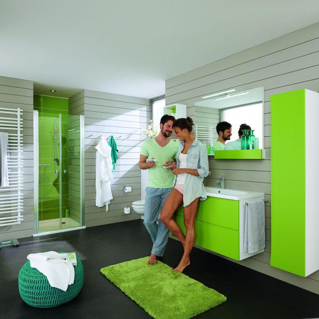 Aranżacja łazienki: sprawdź produkty z serii Clivia