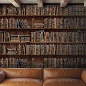 Tapety Mind the Gap, wzór Book Shelves.