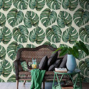 Tapety Mind the Gap, wzór Wzor Tropical Leaf.