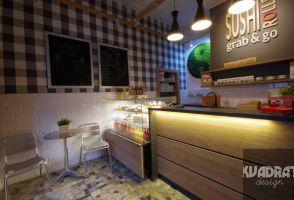 Projekt baru sushi na krakowskim Kazimierzu