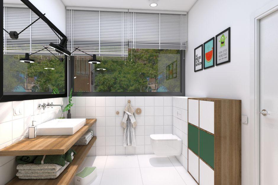 Piękna łazienka. Zobacz projekt inspirowany naturą