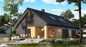 Daniel IV G2 to dom, który skradnie serca miłośników nowoczesnego designu. Wspaniałe, otwarte wnętrze, oryginalna fasada i świetnie zorganizowany układ funkcjonalny to powody, dla których warto wybrać właśnie ten projekt.