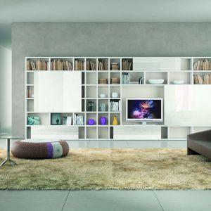 My Space to kolekcja modułowa. Można ją zestawiać według indywidualnego upodobania czy potrzeb wnętrza. Fot. Kler