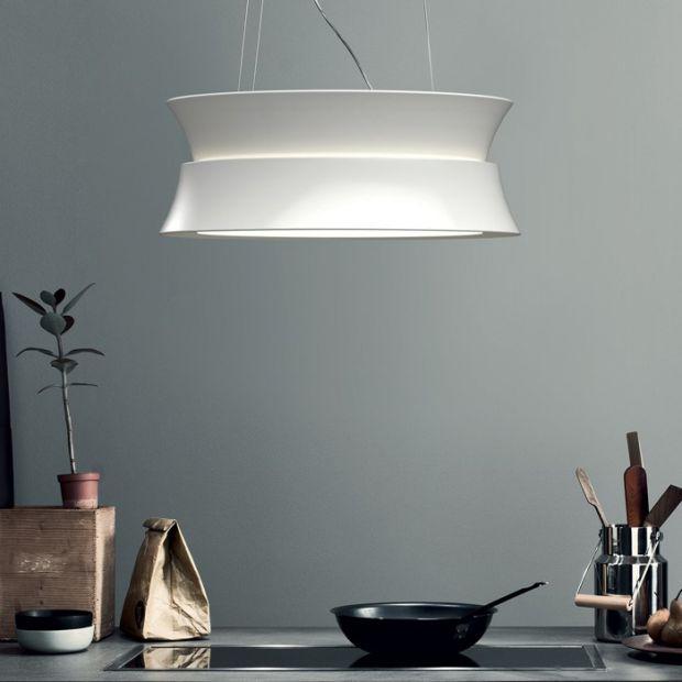 Nowoczesna kuchnia: innowacyjny okap z oświetleniem LED