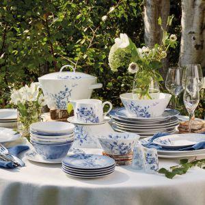 Piękna porcelana: serwis Nordic Blue. Fot. Fyrklovern